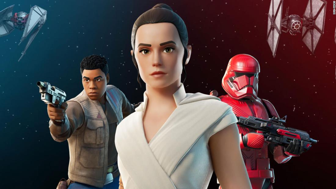 Fortnite Star Wars event leaves some players unable to log in