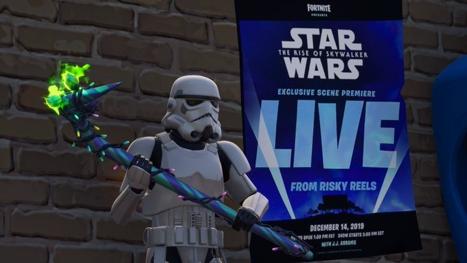 Fortnite's drive-in will show an exclusive Episode IX preview