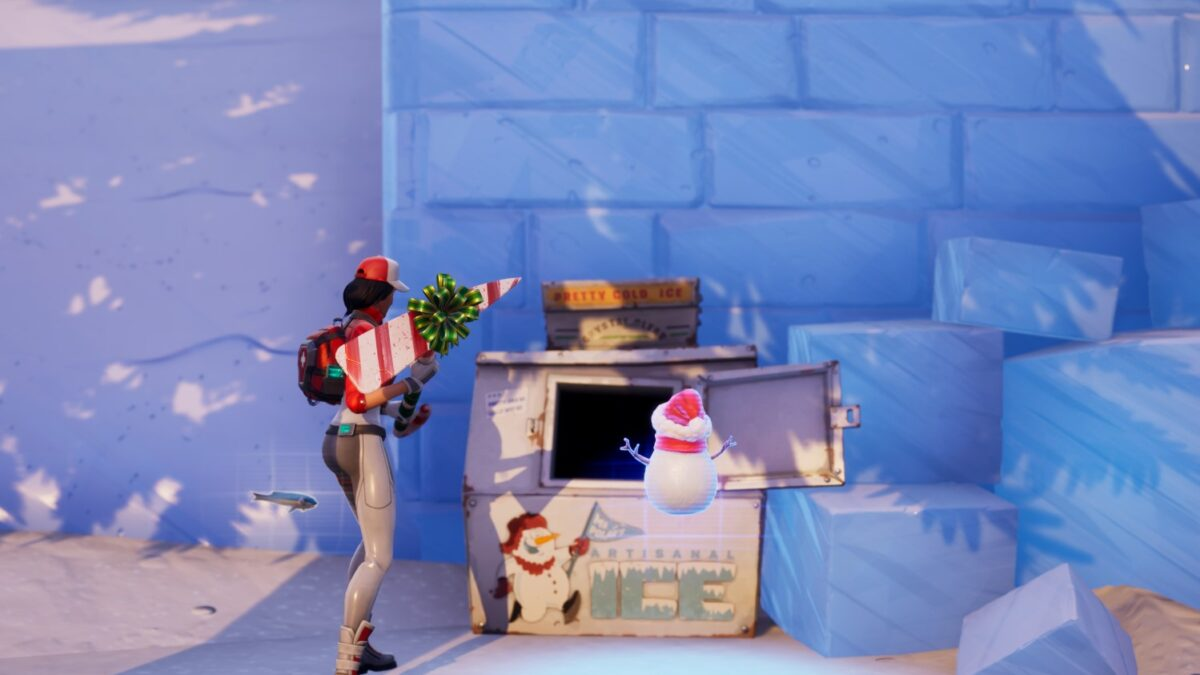 How to Deal Damage to an Opponent with a Lump of Coal in Fortnite