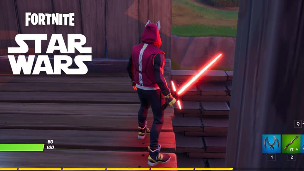 How to easily counter the Lightsaber in Fortnite