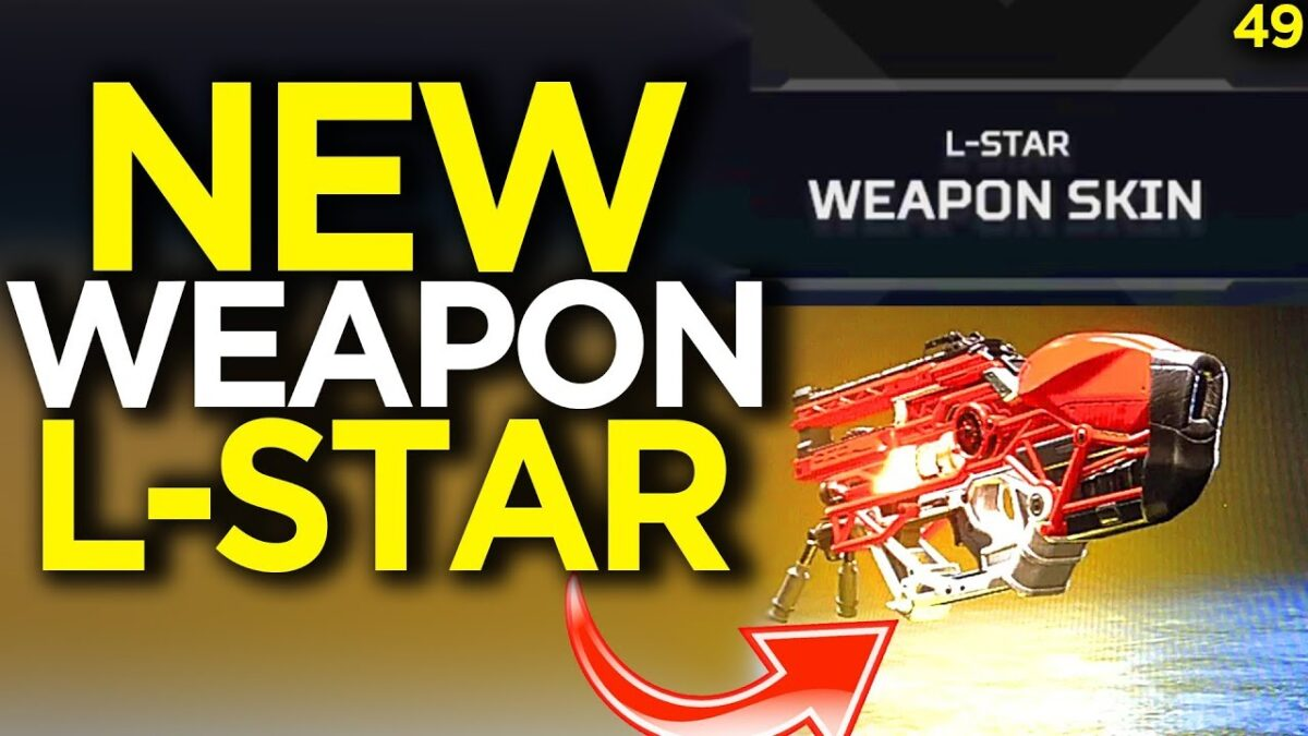 "NEW ""L-Star"" Gun Skin Found In Loot Box – Apex Legends Funny Moments 49"