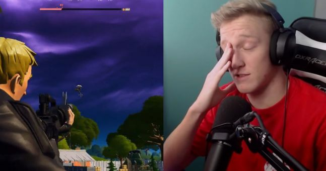 Tfue left speechless after bizarre Fortnite bug steals kill
