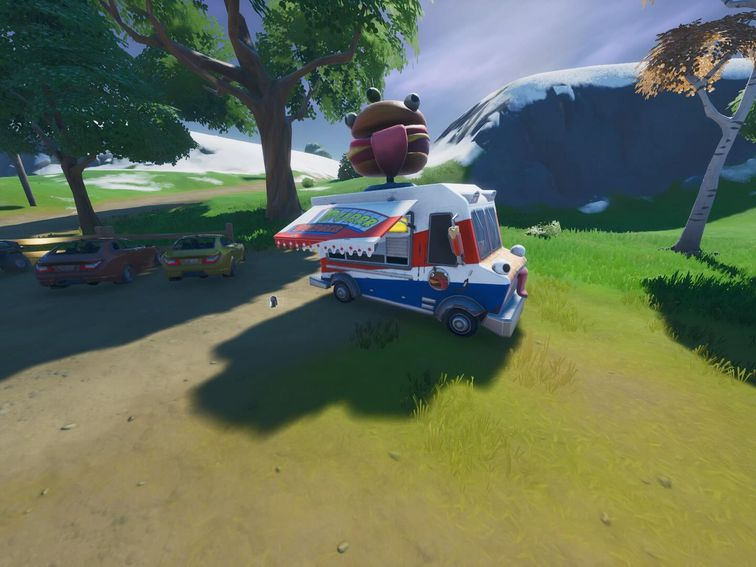 Fortnite Chapter 2 season 1 challenges and where to find food trucks, bus stops
