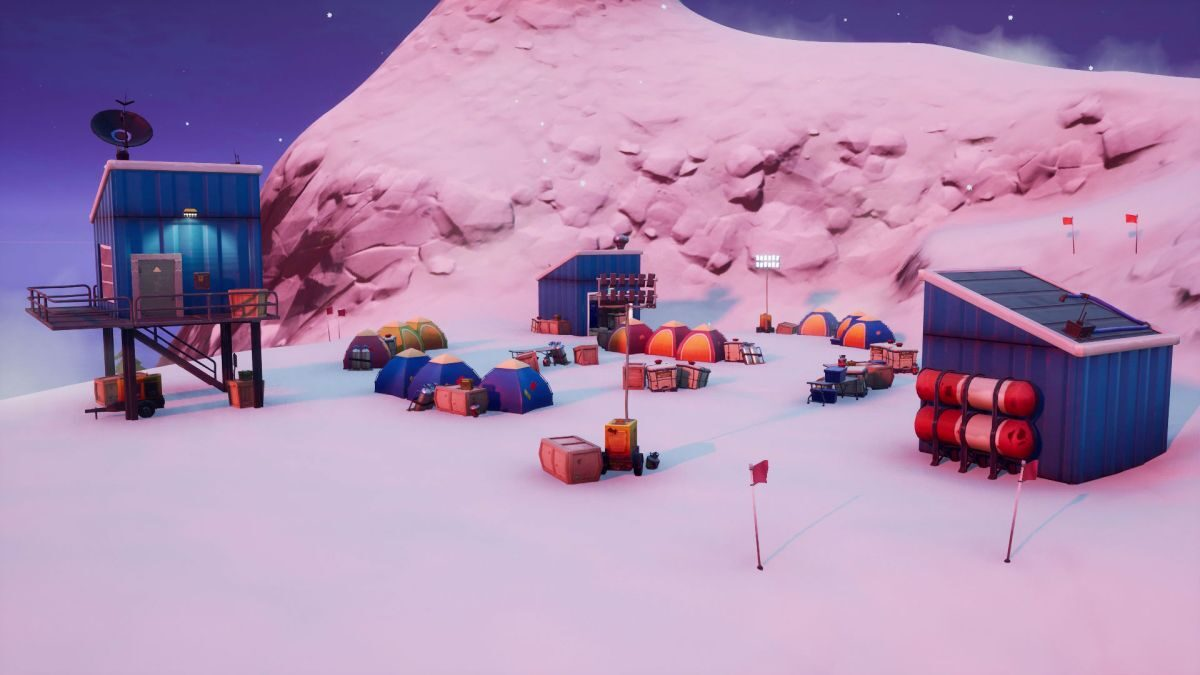 Fortnite Mountain Base Camps: Where to visit camps on the peaks