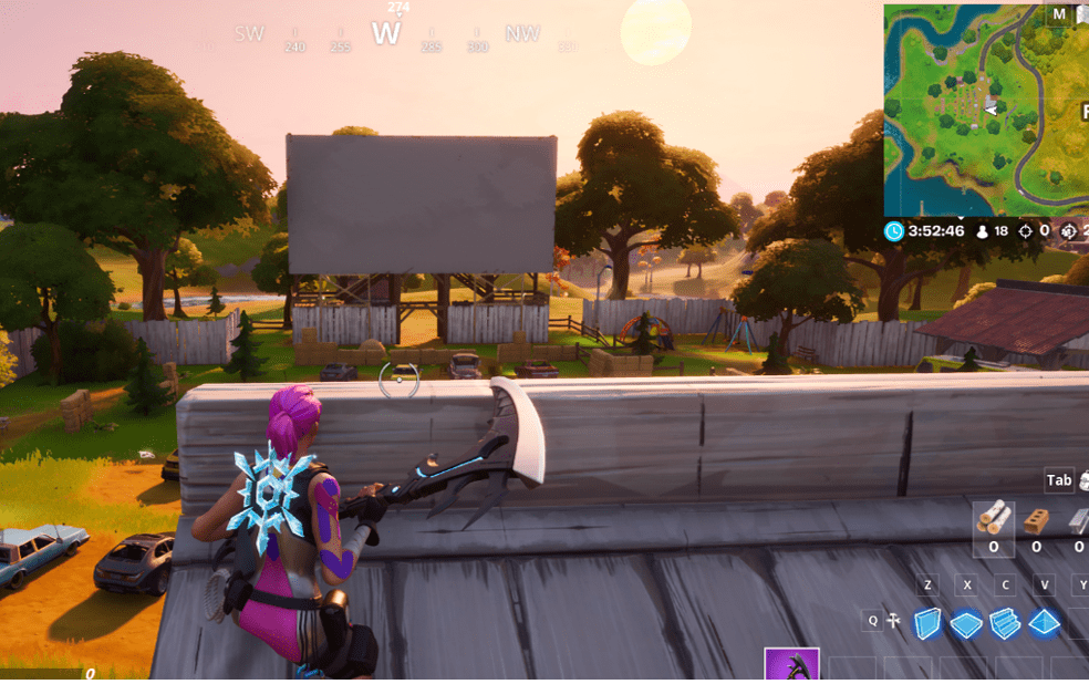 Fortnite Outdoor Movie Theater Location: How and Where to Find and Visit an Outdoor Movie Theater