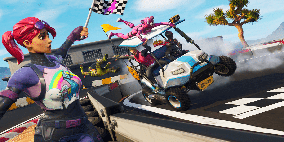 Fortnite vehicle concept would be a perfect fit