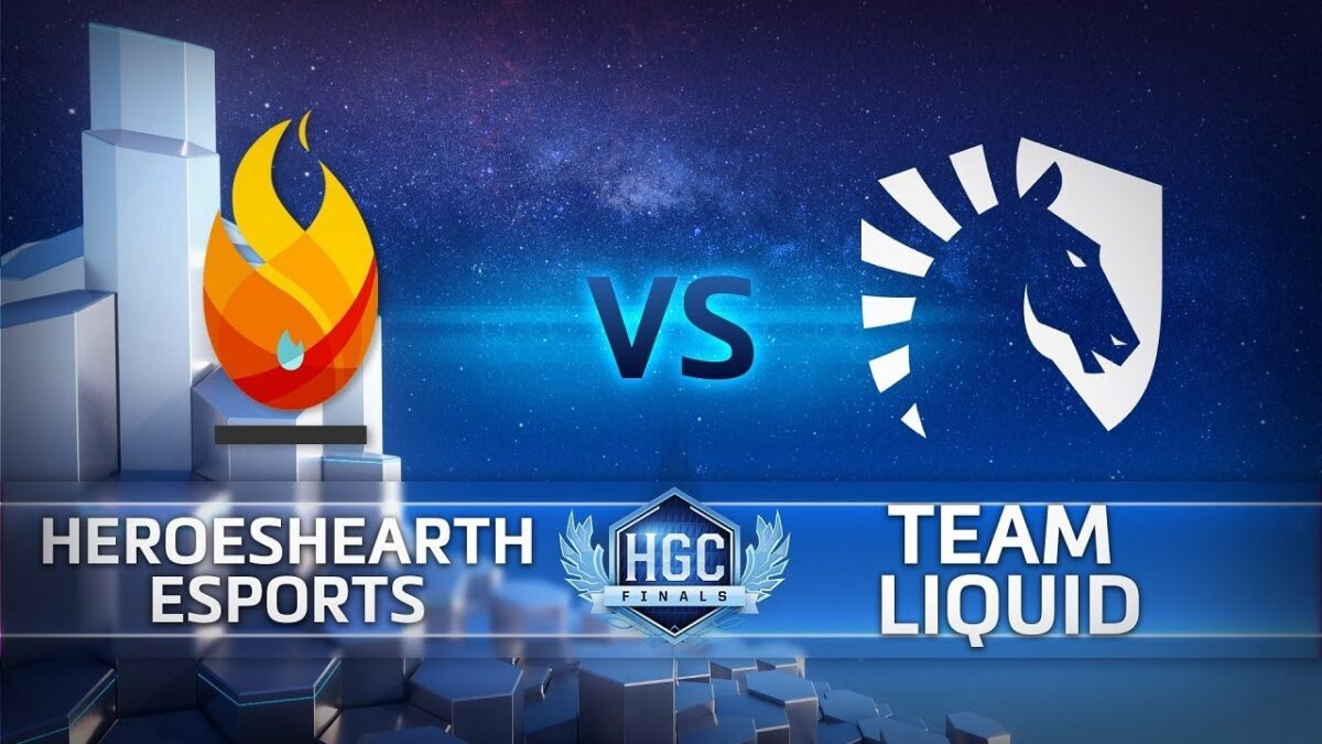 HGC Finals 2018 – Game 1 – HeroesHearth Esports vs. Team Liquid – Bracket Stage