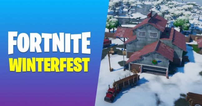 How to complete Fortnite Winterfest Day 14 challenge - all ...