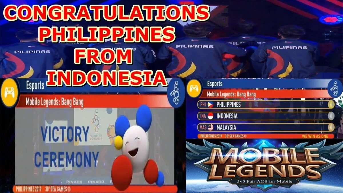 VICTORY CEREMONY PHILIPPINES | Esports Mobile Legends Bang Bang Sea Games