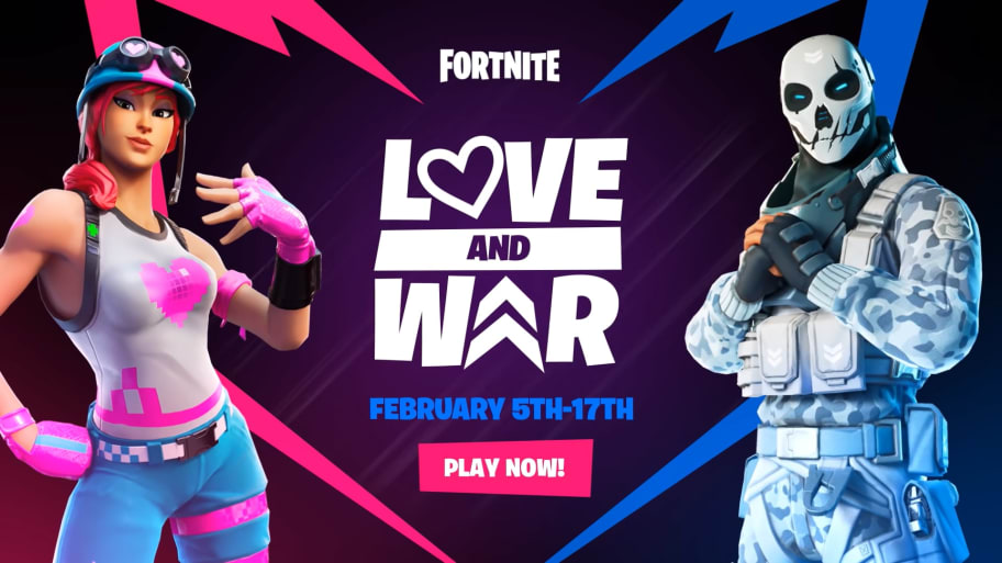 Best Way to Complete Fortnite Love and War Challenges