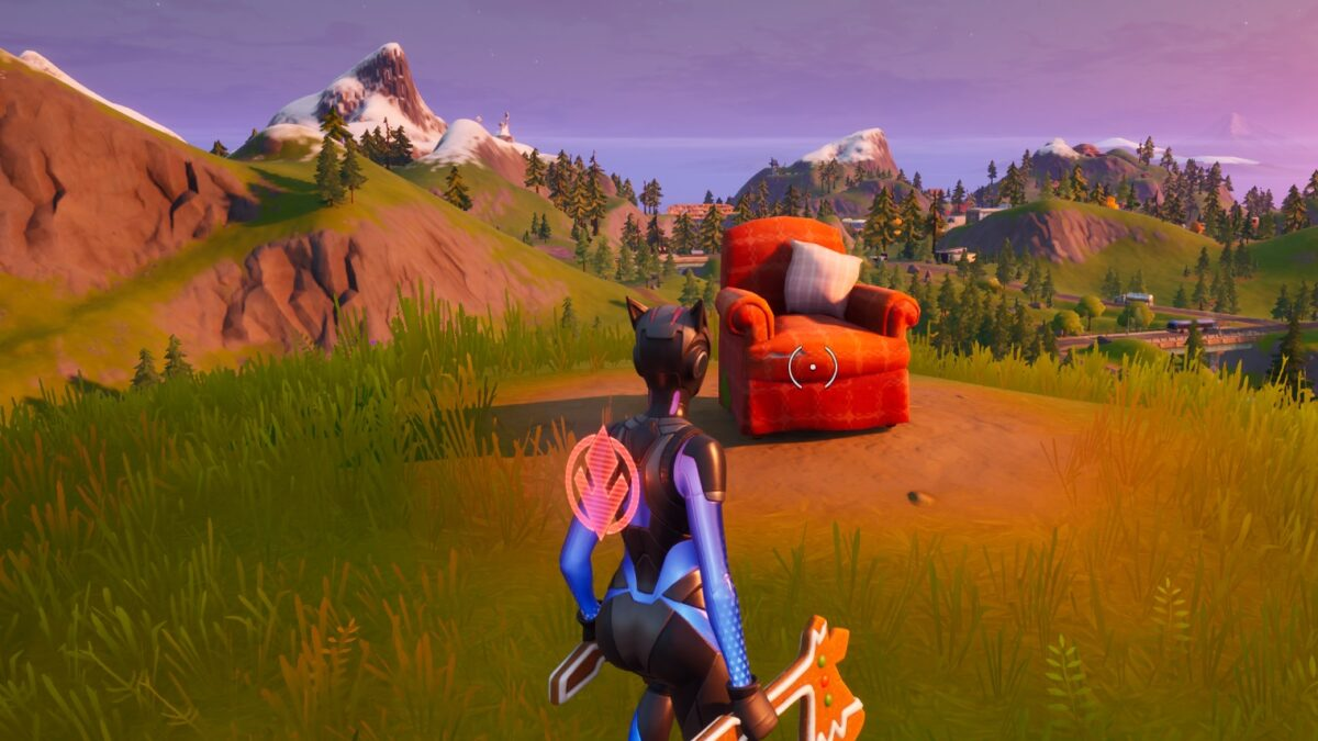 Fortnite: Chapter 2 – Visit a lonely recliner, a radio station and an outdoor movie theater