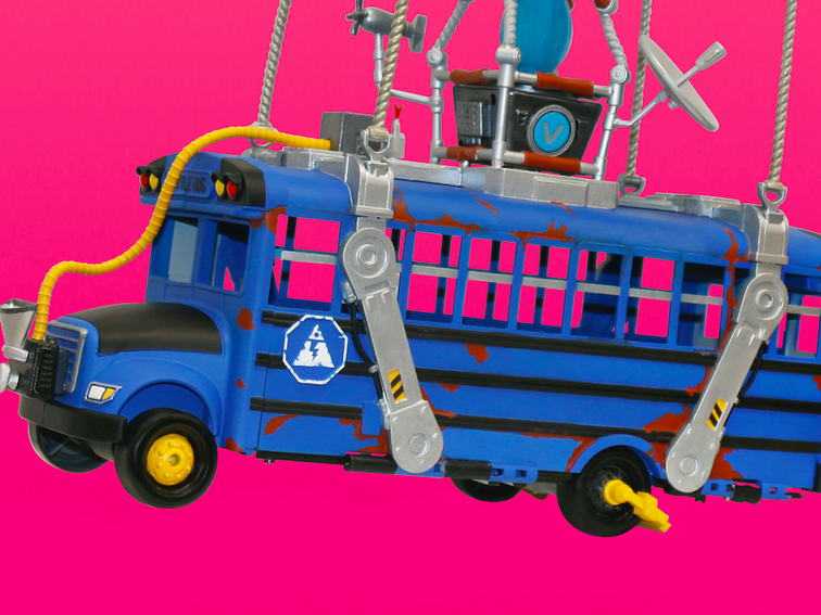Fortnite Deluxe Battle Bus lets you recreate the Chapter 2 opener