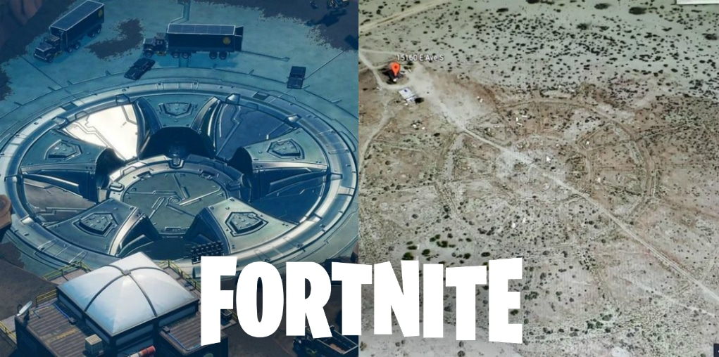 Fortnite X Real Life: The Vault appears in Durr Burger's place
