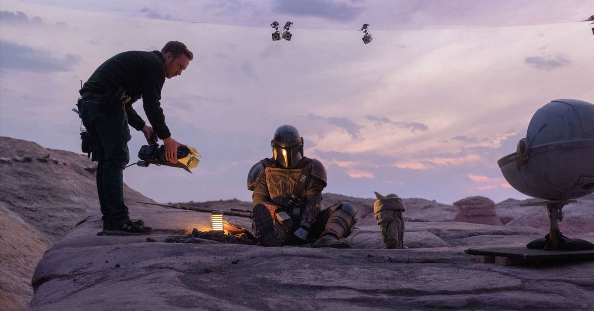 How The Mandalorian teamed up with Fortnite creator Epic Games to create its digital sets