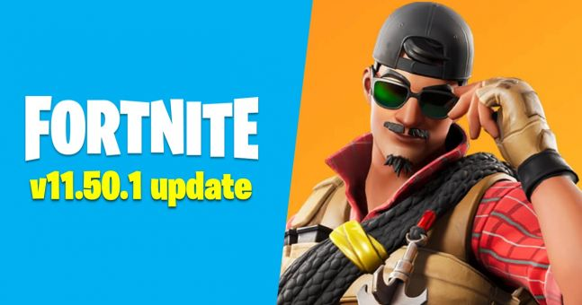 Surprise Fortnite update 11.50.1 released on Xbox, iOS and Switch