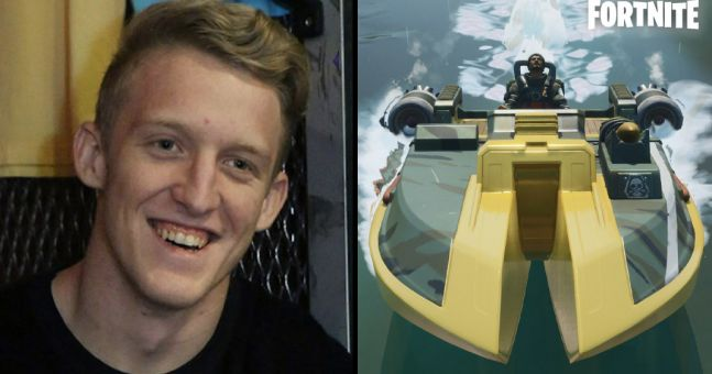 Tfue discovers Fortnite boat exploit that gives players massive jumps