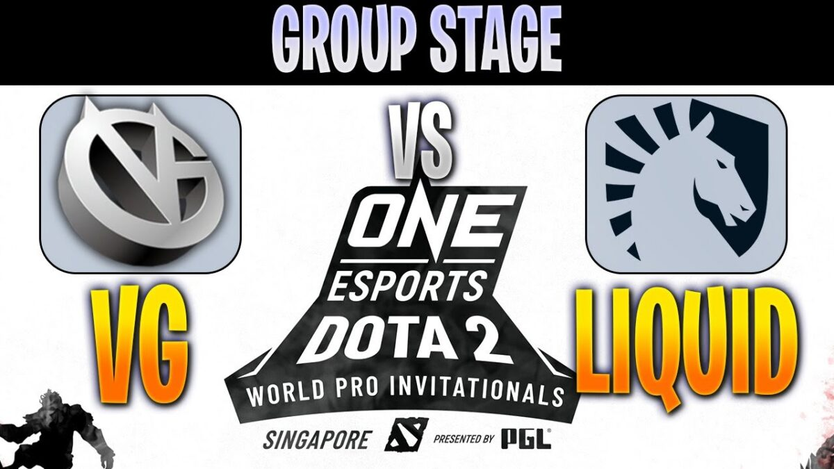 Vici Gaming  vs Team Liquid | Bo2 | Group Stage ONE Esports Dota 2 Singapore 2019 | Spotnet Dota2