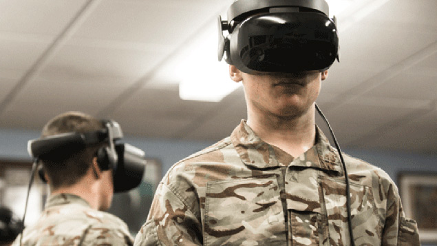 Armed forces trial Fortnite-style virtual reality training