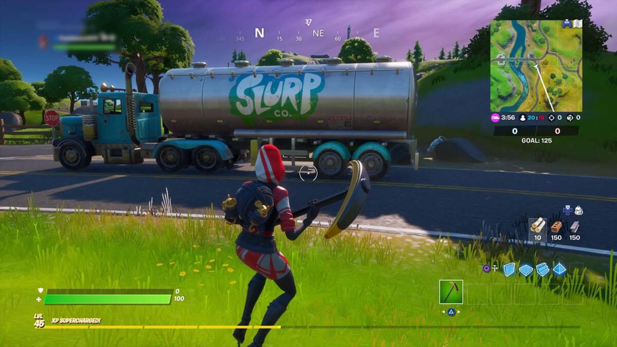 Fortnite bug is causing Slurp Trucks to suddenly disappear