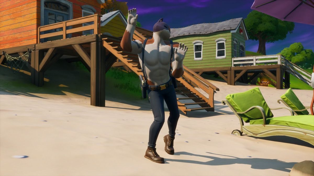 Fortnite Lake Canoe, Camp Cod, and Rainbow Rentals locations: Where to dance at all of them