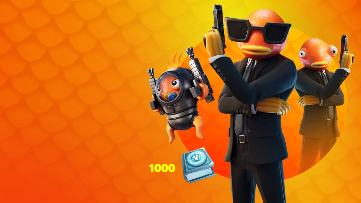 The cold blooded Bassassin Challenge Pack is now available for Fortnite