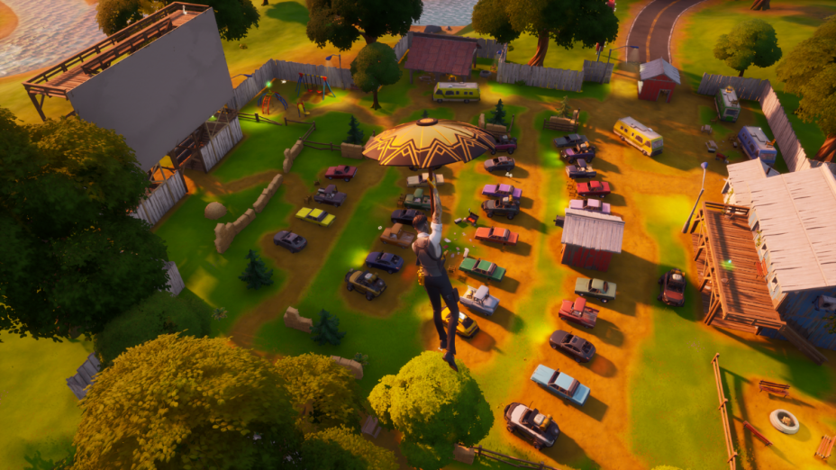 Fortnite: Risky Reels becomes a named Point Of Interest