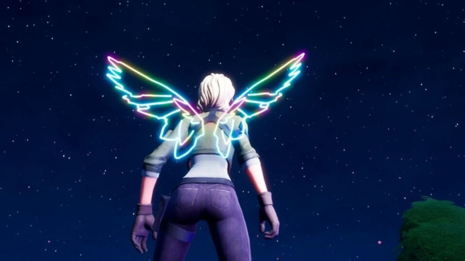 Fortnite: Neon Wings Backbling to be received through a concert