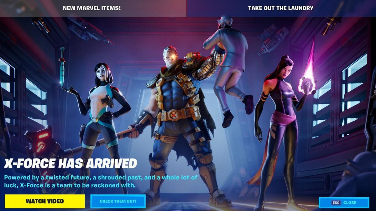 Fortnite's New X-Men Skins Are The Fastest I Have Ever Bought Anything