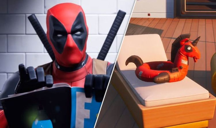 Fortnite Deadpool floaty locations: How to find Deadpool floaties at The Yacht   Gaming   Entertainment