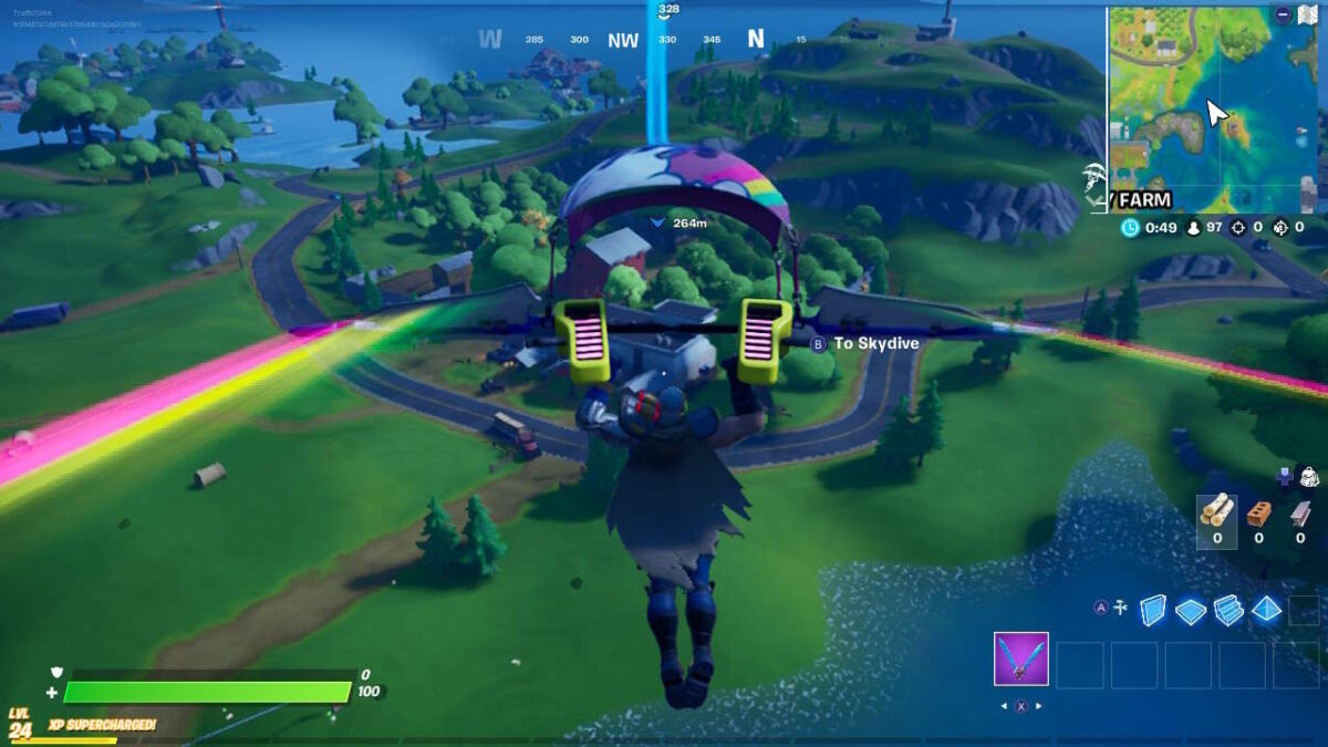 Fortnite: Orchard Location And Gathering Foraged Items Guide