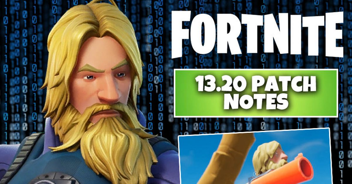 Fortnite Update 13.20 Patch Notes CONFIRMED: Server downtime, Map changes, Flare Gun