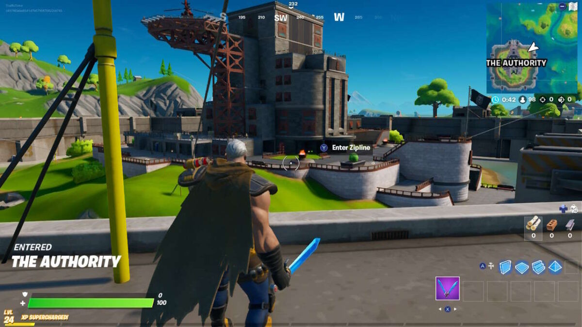 Fortnite: Ziplines At The Authority Guide