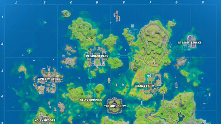 Where is the Corn Field at Frenzy Farm in Fortnite?
