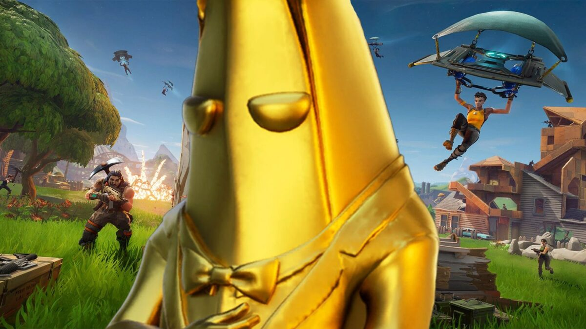 Why Fortnite Players Are Frustrated With The Golden Peely Skin