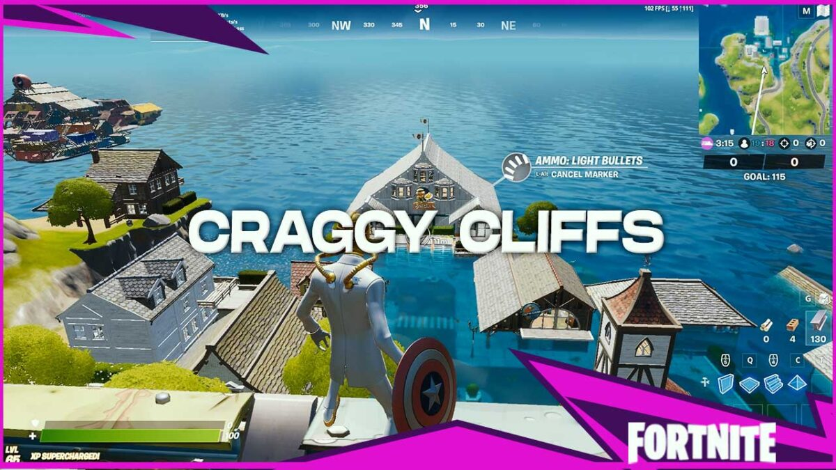 Fortnite Craggy Cliffs: POI Guide – Chest Spawns, Loot and More!
