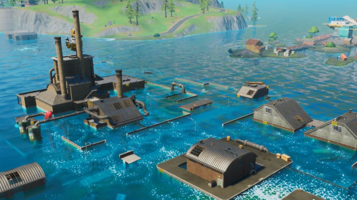 Fortnite Map Update July 24th: All changes after water levels lower