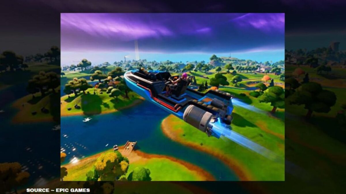 How to do the Fortnite flying boat glitch? Learn and become OP now