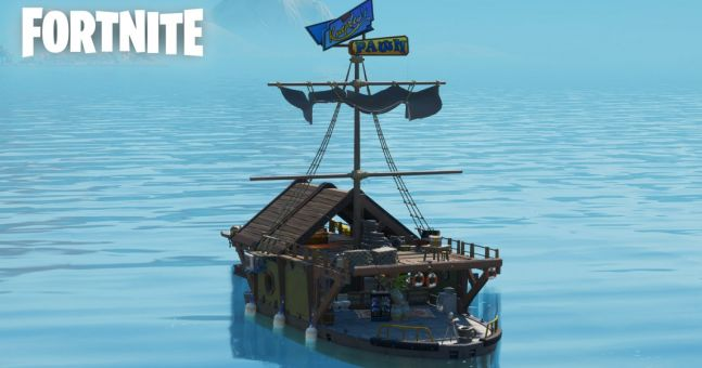Mysterious Fortnite loot boat is moving with each map change
