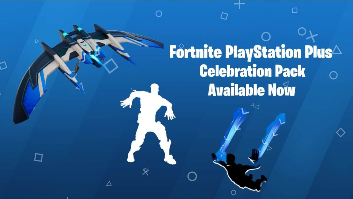 New Fortnite PlayStation Plus Celebration Pack Available – Free Emote, Glider & Contrail