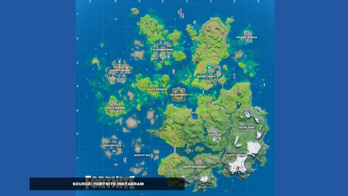 Where is Hydro 16 in Fortnite? Here is the location on Fortnite map