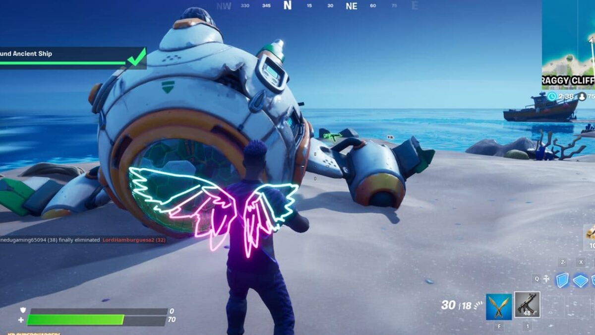 Fortnite Ancient Astronaut Challenges: How To Activate Challenges