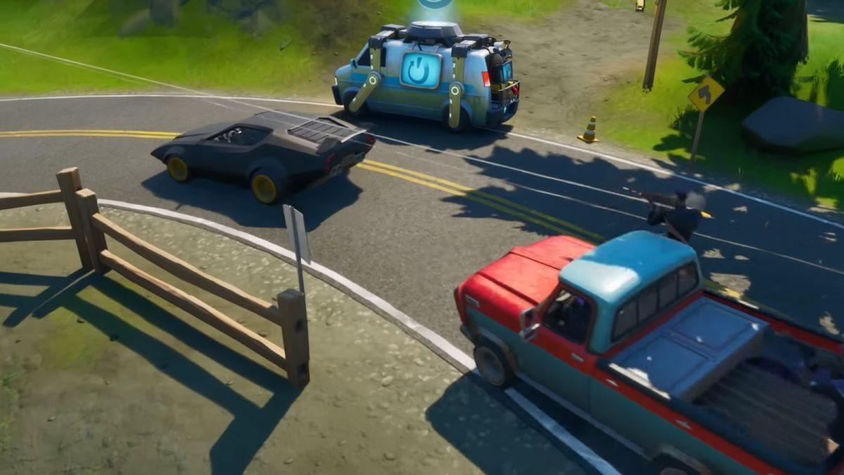 Fortnite announces JoyRide update which introduces cars into Season 3