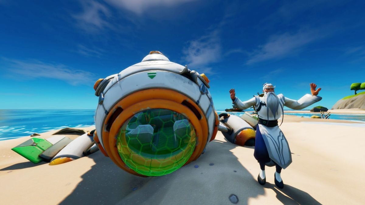Fortnite astronaut challenge: How To Find The Ancient Ship And Install Its Missing Parts