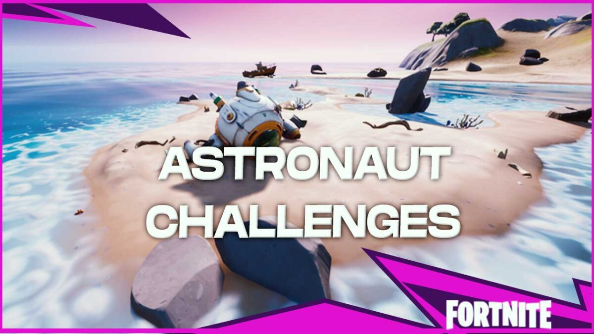 Fortnite Astronaut Challenges: How To Launch The Ancient Ship, Where, Missing Parts, and More!