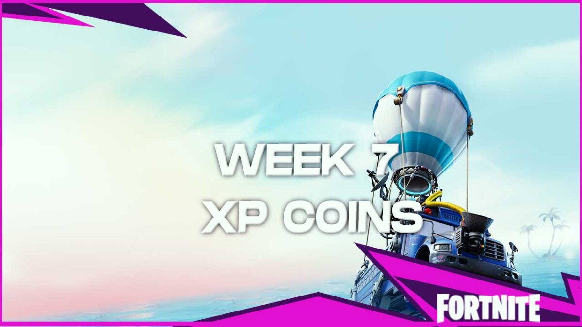 Fortnite Chapter 2 Season 3: Week 7 XP Coin Locations – Green, Blue, Gold and Purple XP Coins!