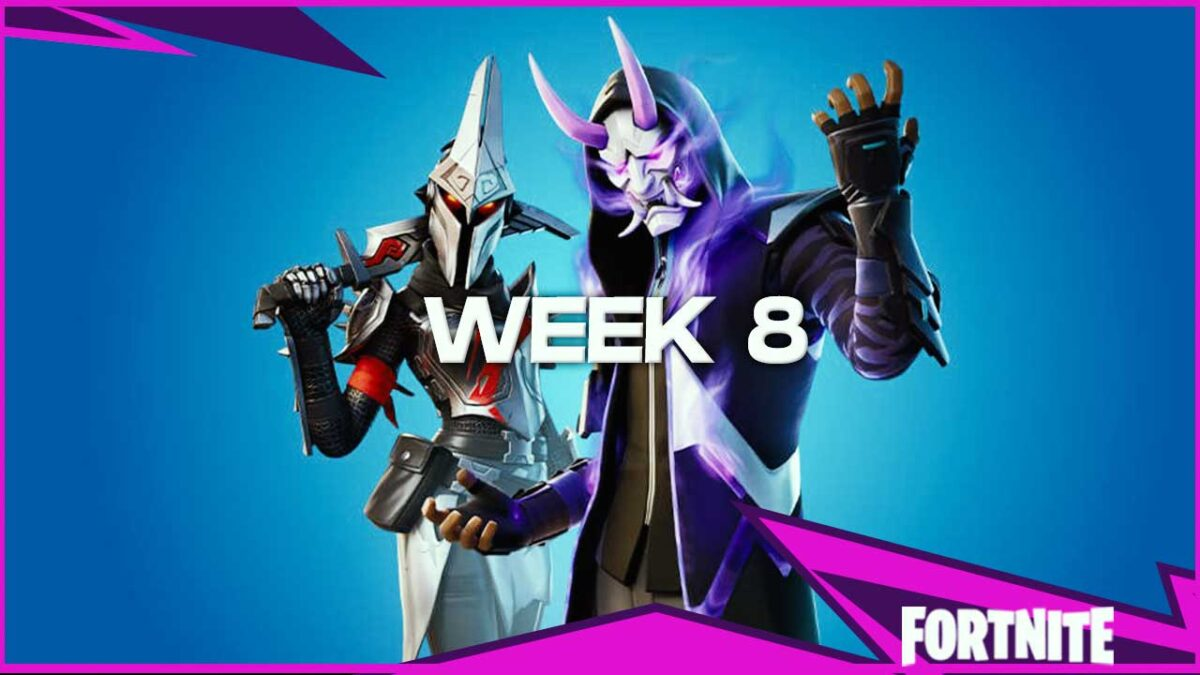Fortnite Chapter 2 Season 3: Week Eight Challenge Guide – Full Guide, Rewards, How To and More!