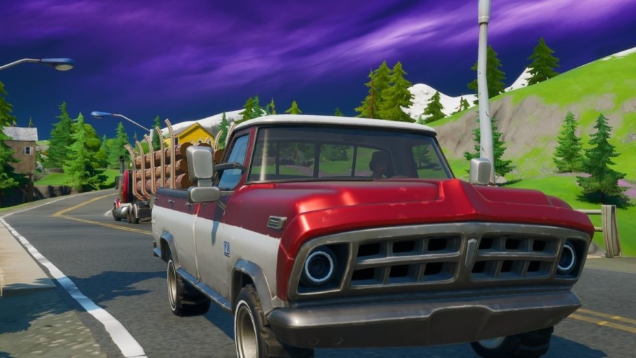 Fortnite: Drive from Retail Row to Pleasant Park in less than 4 minutes, Season 3 Challenge