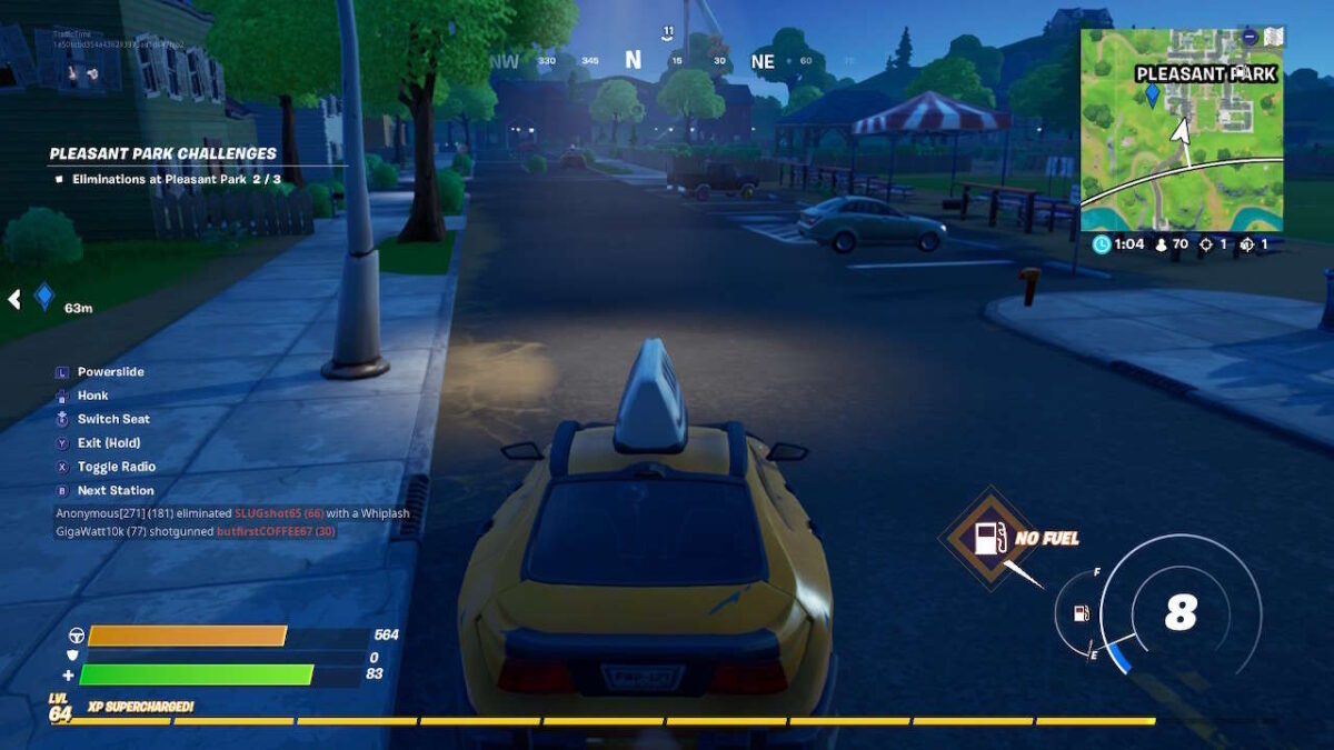 Fortnite: Drive From Retail Row To Pleasant Park In Less Than 4 Minutes Guide