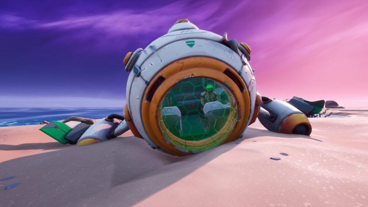 Fortnite: How To Find and Assemble All Parts Of The Spaceship