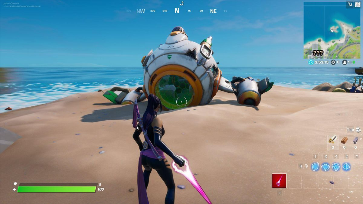 'Fortnite' Water Drops Revealing Ancient Ship Location, Coral Castle Zone